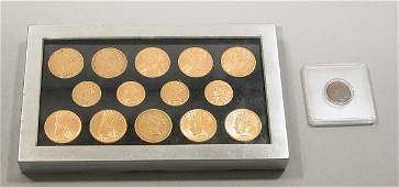 204: Group of Assorted U.S. Gold Coins