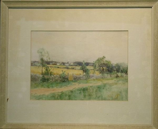 2008: Bruce Crane American, 1857-1937 COUNTRY LANDSCAPE