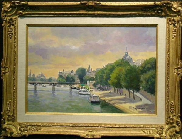 2012: Annie Puybareau French, b.1955 LE PONT DES ARTS