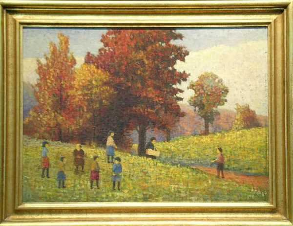 2013: Attributed to Rudolph A. Voelcker AUTUMN DAYS