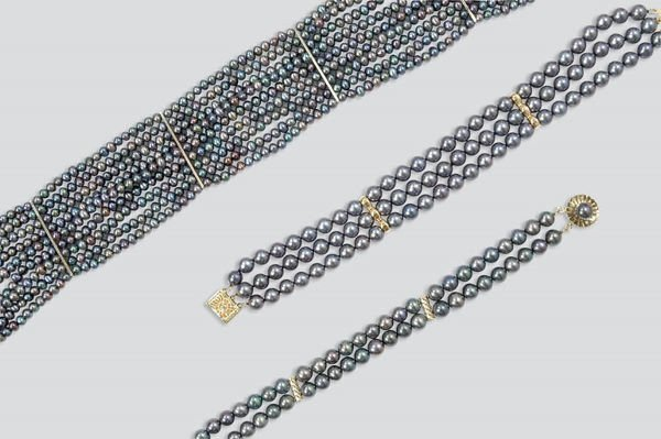 2020: Enhanced Multicolored Cultured Pearl Necklace and