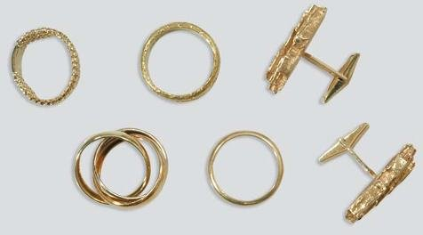 2024: Group of Gentleman's Jewelry