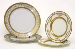 3088: Set of Eight Limoges Porcelain Dinner Plates