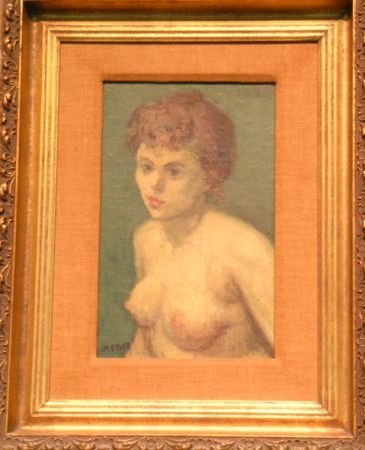 1: Moses Soyer American, 18991-74 NUDE - 1956