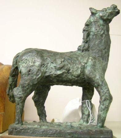 4: Carl Lewis Pappe American, 1900-1998 NEIGHING HORSE