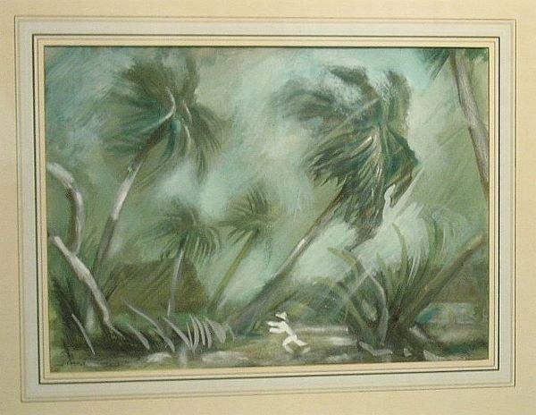 5: Lloyd Lozes Goff American, 1908-1982 TROPIC RAIN, YU