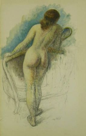12: Leon Kroll American, 1884-1975 STANDING NUDE
