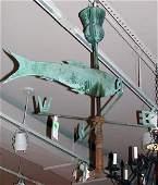 363: Scottish Copper Weathervane