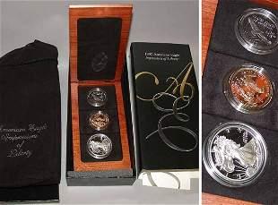 Three-Piece American Eagle Coin Set