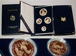 Group of Assorted Gold Bullion Sets