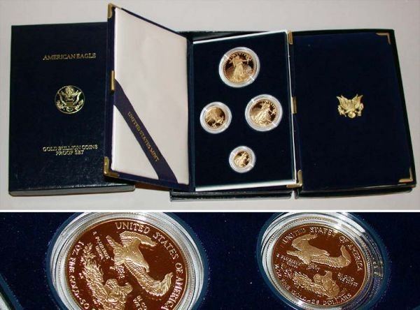 11: Group of Assorted Gold Bullion Sets