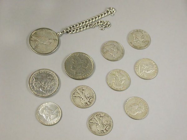 22: Group of US Coins