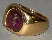 104 Intaglio Ring