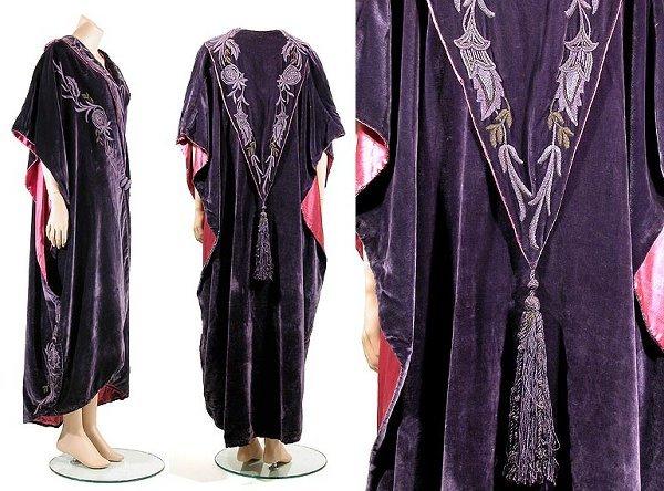 2008: Liberty & Co. Art Nouveau Velvet Opera Coat
