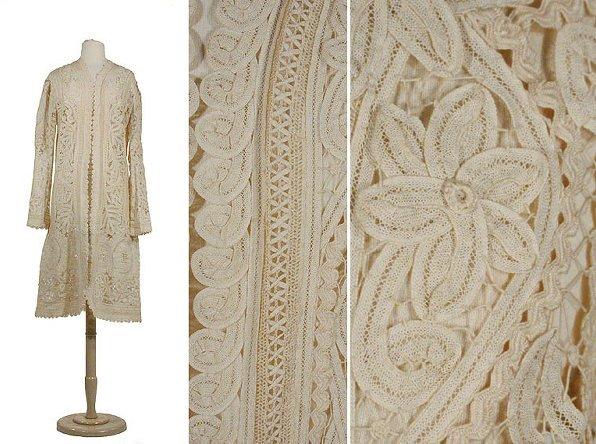 2010: Guipure Tape Lace Coat