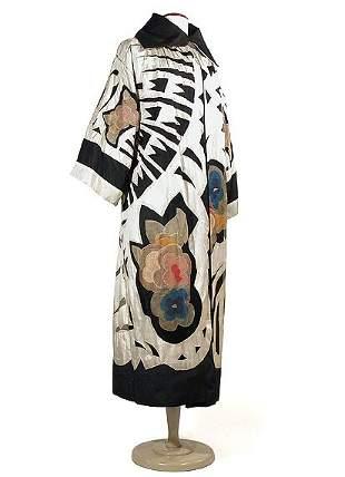 Dramatic Art Moderne Opera Coat