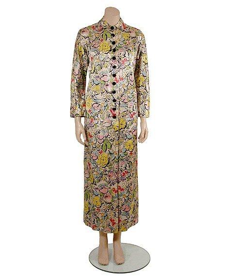 2024: Brooke Cadwallader Handprinted Silk Satin Robe