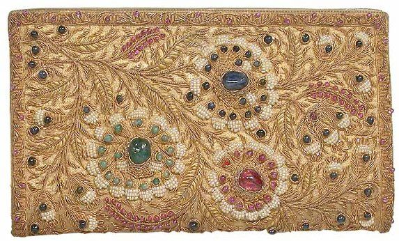 Jeweled Indian Bag