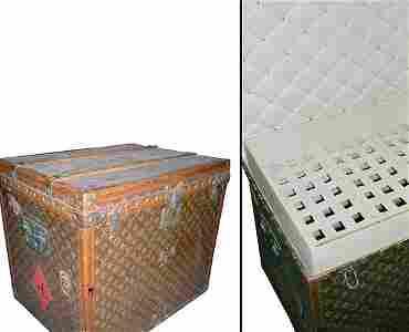 2401: Louis Vuitton Laundry Trunk
