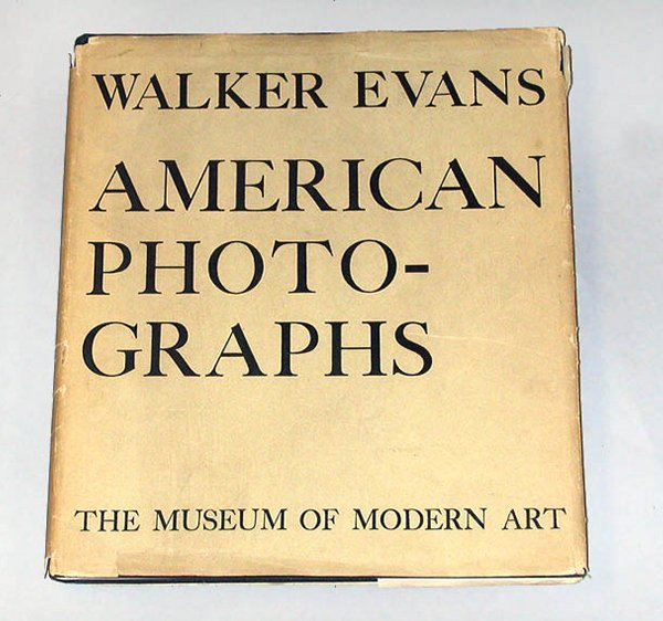 4019: EVANS, WALKER American Photographs
