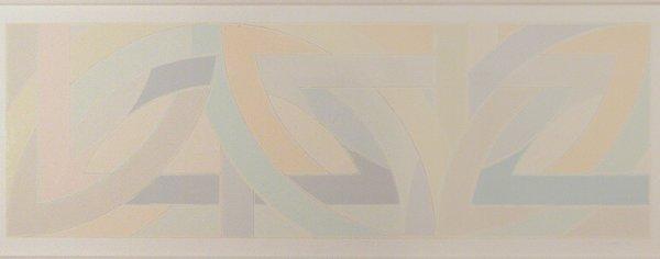 4267: Frank Stella YORK FACTORY I Color screenprint