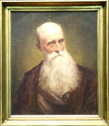 3011A: William Willard American, 1818-1904 PORTRAIT OF
