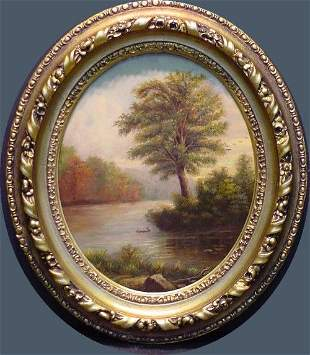 Attributed to Thomas Doughty 1793-1856 VIEW HUDSO