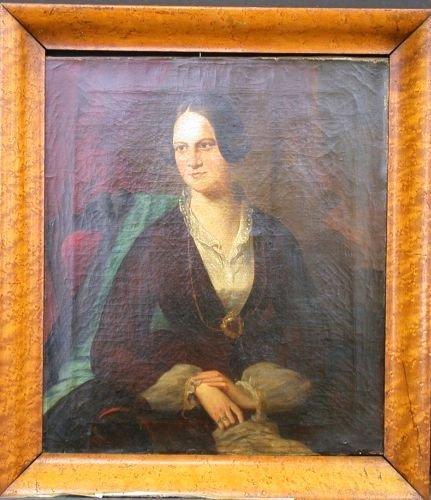 3014: Circle of Daniel Huntington PORTRAIT OF A WOMAN