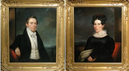 3015: Henry Inman American, 1801-1846 PORTRAITS OF SAMU