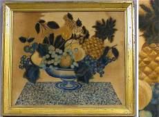 Watercolor on Velvet Theorem Painting