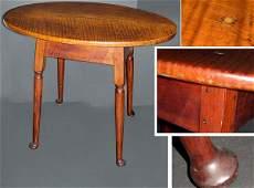 3086A Queen Anne Maple Tea Table