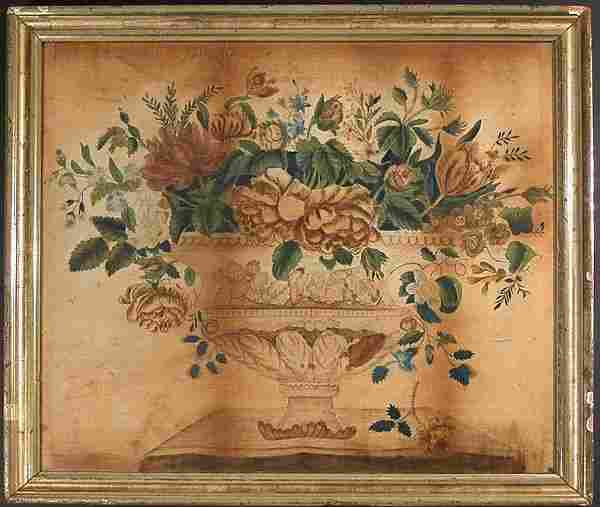 3202: Watercolor on Velvet Theorem Painting