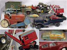 3236 Miscellaneous Group of Metal Toys