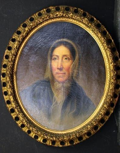 3012A: Rembrandt Peale, American, 1778-1860, PORTRAIT