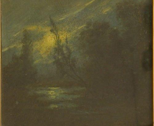 3019A: Manner of Ralph Albert Blakelock, MOONLIT LAKE