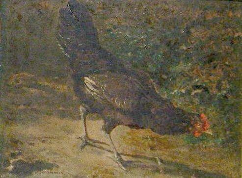 5004: Juliette Peyrol Bonheur French, 1830-1891 HEN and