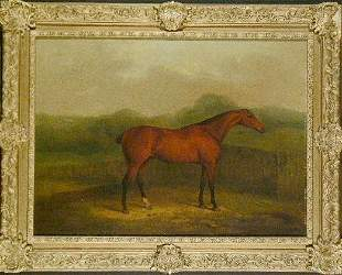 James Barenger, II British, 1780-1831 RACE HORSE