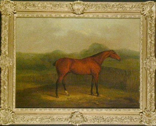 5005: James Barenger, II British, 1780-1831 RACE HORSE