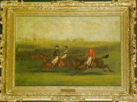5006: Byron Webb British, 1831-1867 RACING SCENE