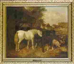 After John Frederick Herring, Snr. IN THE BARNYAR