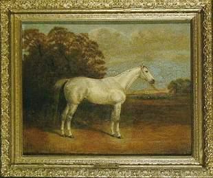 H. Hall British, 19th century HORSE PORTRAIT