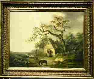 George Morland British, 1763-1804 A COUNTRY INN