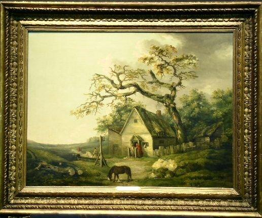 5015: George Morland British, 1763-1804 A COUNTRY INN