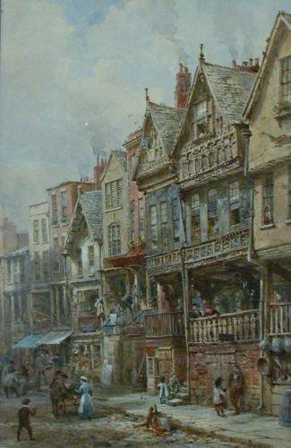 5016: Louise J. Rayner British, 1832-1924 BISHOP LLOYD'