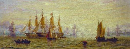 5020: William Adolphus Knell British, 1805-1875 EARLY M