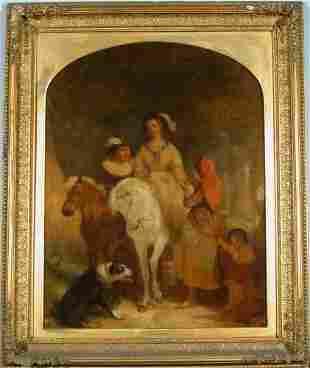 Alfred Joseph Woolmer British, 1805-1892 THE GYPS