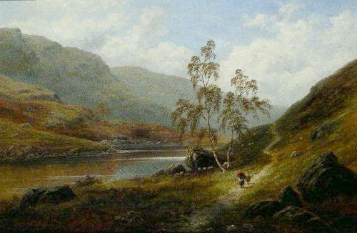 5024: William Mellor British, 1851-1931 RIVER LANDSCAPE