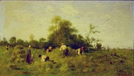 5036: Louis Alexandre Dubourg French, 1821-1891 LA FENA