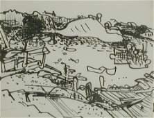 Hans Hofmann German/American, 1880-1966 HARBOR, P