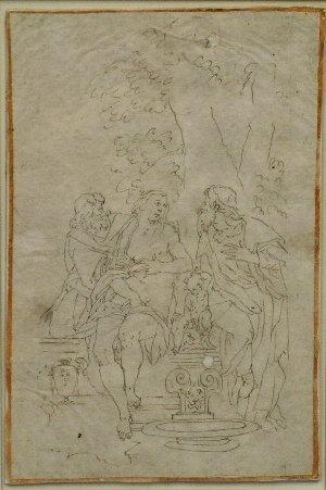6003: Northern Italian School 18th Century SUSANNAH AND